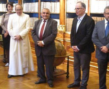 Matenadaran - EXHIBITION OF ARMENIAN MANUSCRIPTS IN PRAGUE